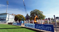 New Northern Stand - Aurora Stadium Pile Driving