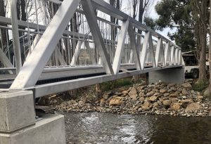Tynwald Park New Norfolk Tasmania Aluminium Footbridge